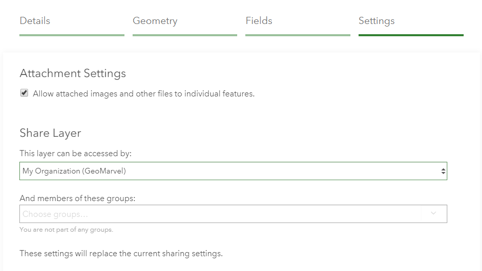 Create ArcGIS Online Feature Layers | GeoMarvel
