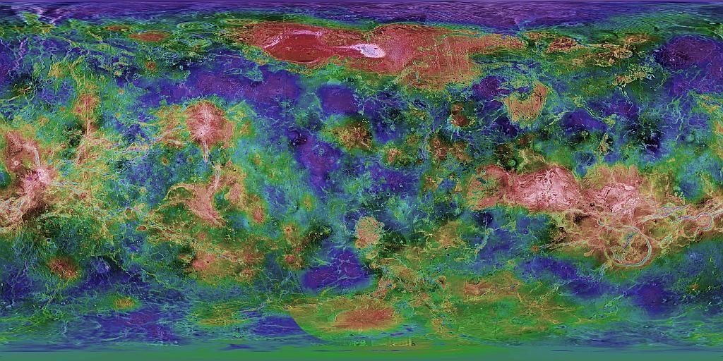 mapping planets