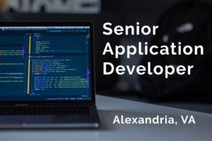 senior application developer geomarvel job opening